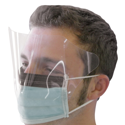 Eye Shield and Face Mask - Case of 200