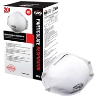 N95 Particulate Respirators - 20-Pack