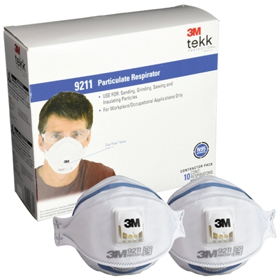 N95 Valved Particulate Respirators - 120 Case
