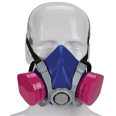 Toxic Dust Respirator with P100 Filters
