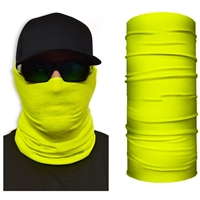 Face Guard Neon Yellow