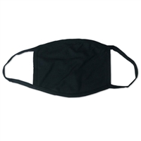 Cloth Face Mask Black