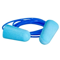 Corded Foam Ear Plugs - 1 Pair