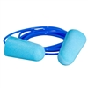 Corded Foam Ear Plugs - 100 Pair