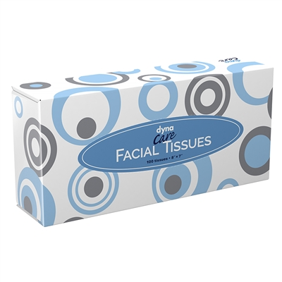 Facial Tissue Box - 100 Sheets