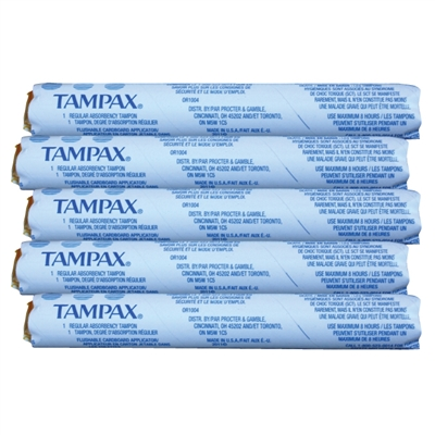 Tampax Tampons - 5-Pack