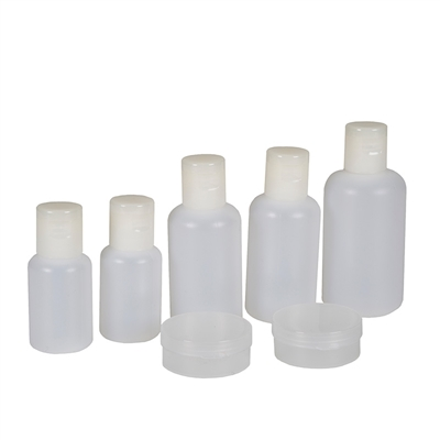 7 piece bottle and container set