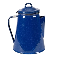 Enamel Percolator Coffee Pot 8 Cup