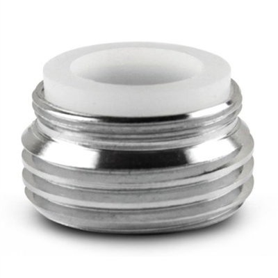 Chrome Plated Brass Faucet Adapter