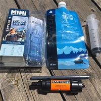 Sawyer Mini Water Filter with Pouch