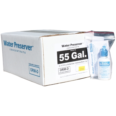 55 Gallon Water Preserver Concentrate - Case of 24