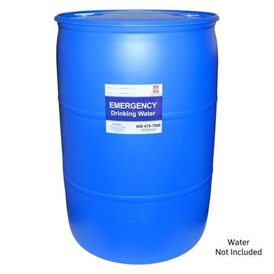 Water Barrel - 55 Gallon