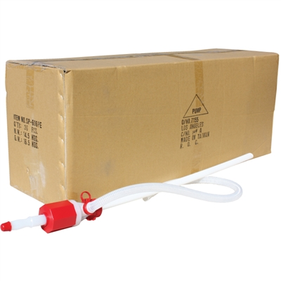 7 Gallon Heavy Duty Siphon Pump - 36 per Case