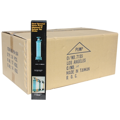 8 oz. Drum Stroke Pump - 36 per Case