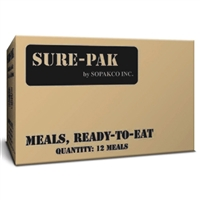 MRE Meal - 12 per Case