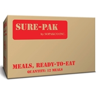 MRE Meal with Heater - 12 per Case