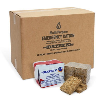 Datrex Food Bar - 2400 Calorie - Case of 30