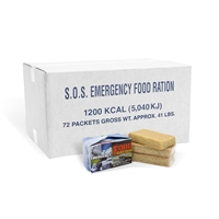 SOS Food Bar - 1200 Calorie - Case of 72