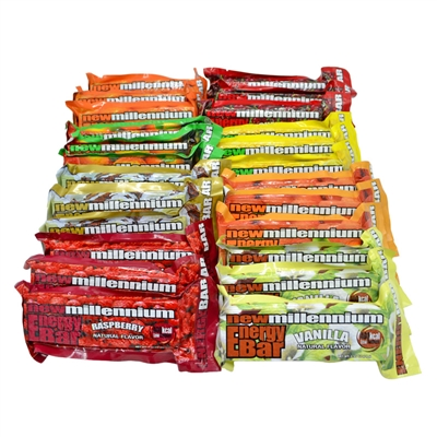 Millennium Energy Bars Combo 24-Pack