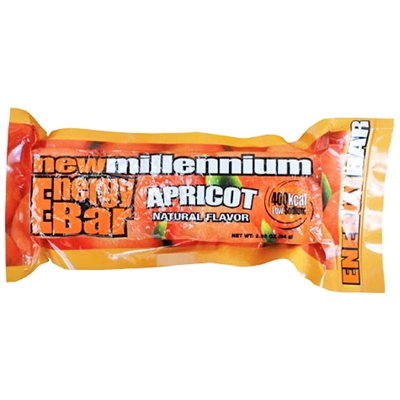 Millennium Energy Bar - Apricot - Expires 11/24
