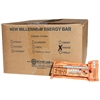 Millennium Energy Bar - Orange - Case of 144