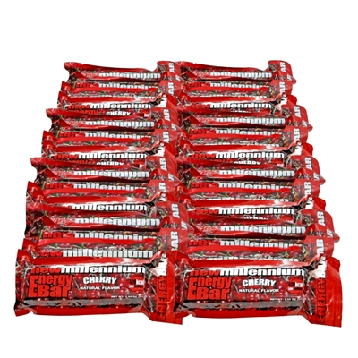 Millennium Energy Bar - Cherry - 24-Pack