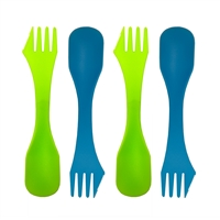 Plastic 3-in-1 Spork - 4 Pack