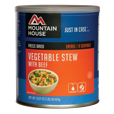 Mountain House #10 Vegetable Stew w/ Beef