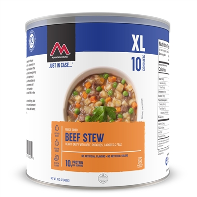 Mountain House #10 Beef Stew