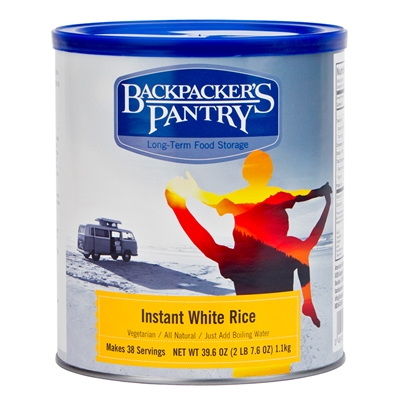 Backpacker's Pantry #10 Instant White Rice