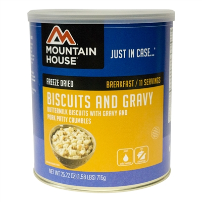 Mountain House #10 Biscuits and Gravy