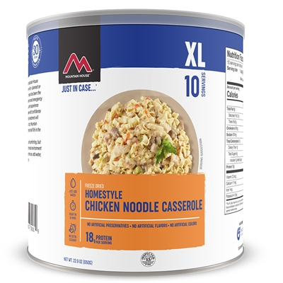 Mountain House #10 Noodles & Chicken