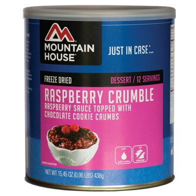 Mountain House #10 Raspberry Crumble