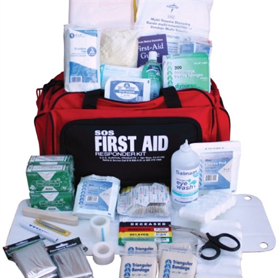 15 Person Duffle Bag First Aid Kit