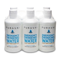 PURAVAI Water - 6 (1L) Bottles/cs