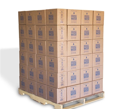 PURAVAI Bottled Water Pallet - 132 Cases