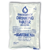 Drinking Water Pouch 4.227 oz. - Each