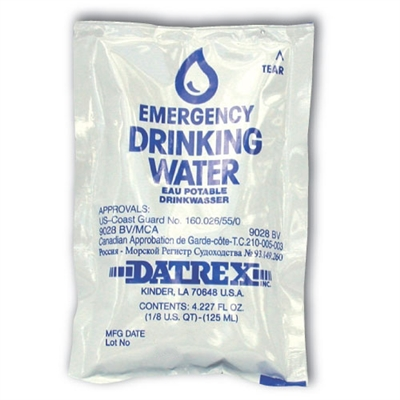 Water Pouch 4.227 oz. - Each
