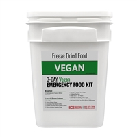Vegan MRE Meal Emergency Food Supply