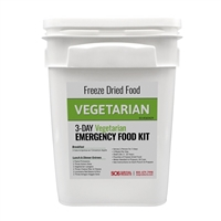 Vegetarian MRE Meal Emergency Food Supply