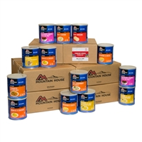 Mountain House 50-Person 3-Day Food Supply