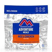 Mountain House Rice & Chicken - Double Serving