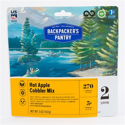 Backpacker's Pantry Hot Apple Cobbler Mix
