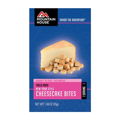Mountain House Freeze Dried New York Style Cheesecake Bites