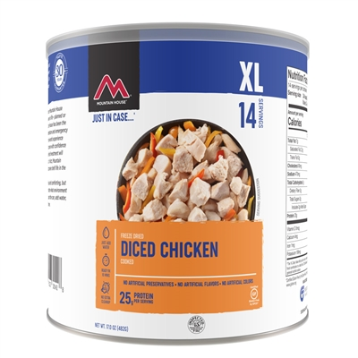 Mountain House #10 Diced Chicken