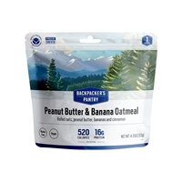 Backpacker's Pantry Peanut Butter & Raisin Oatmeal