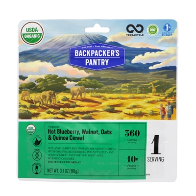 Backpacker's Pantry Blueberry, Walnut, Oat & Quinoa - Expires 3/23