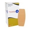 Sheer Plastic Adhesive Bandage 2 in x 4.5 in - 50-Pack