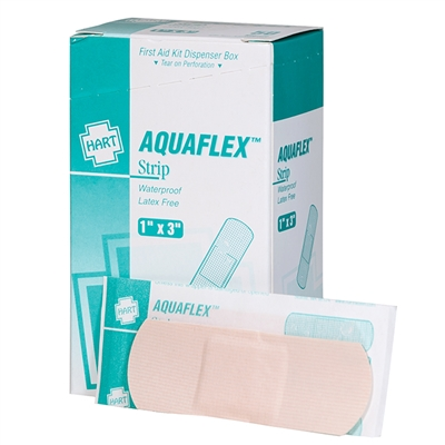 Waterproof Bandages - 1 x 3 - 50-Pack
