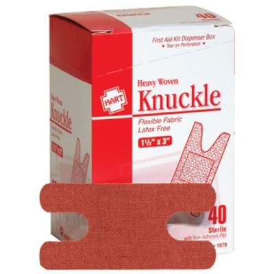 Woven Adhesive Knuckle Bandages - 40-Pack